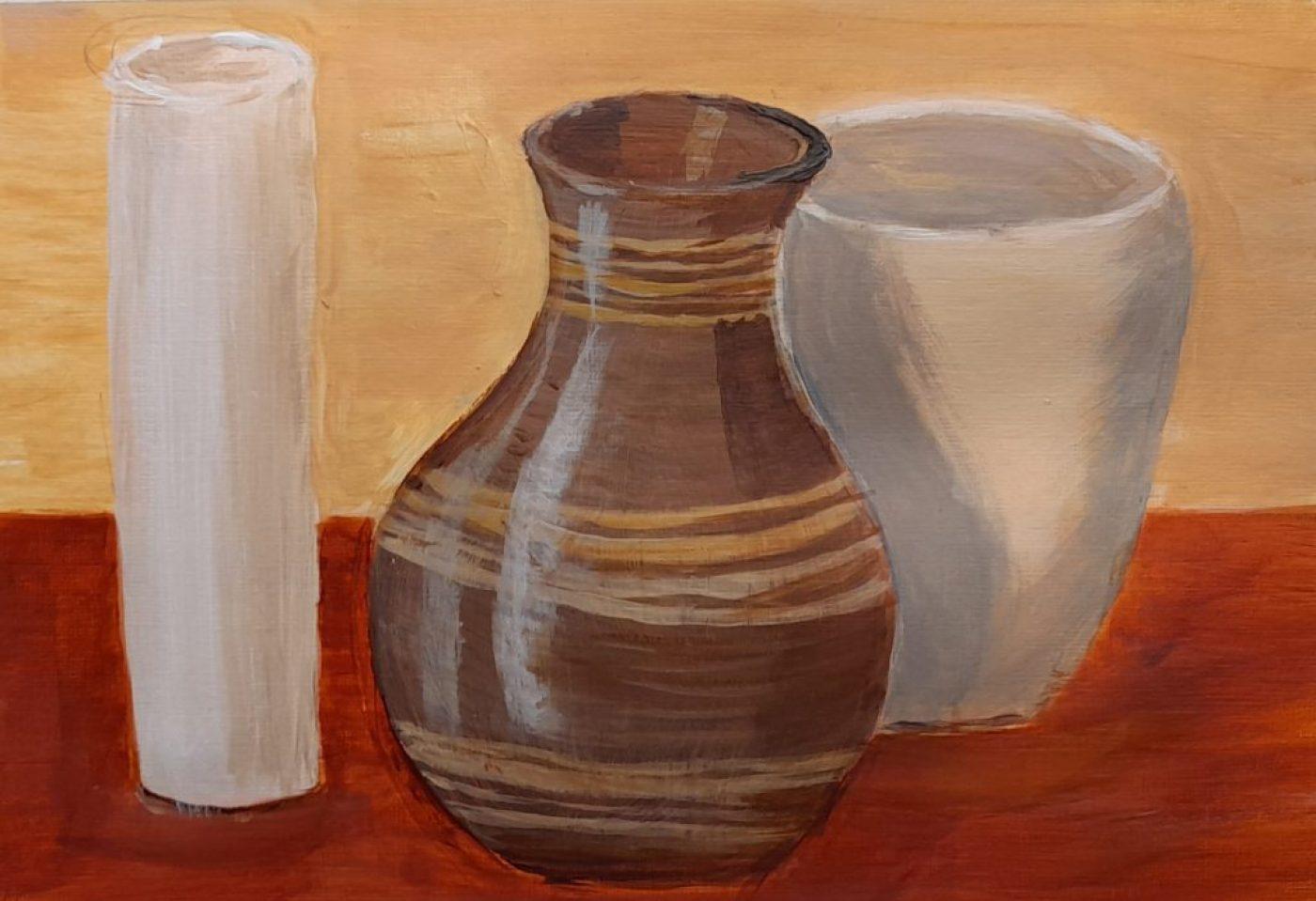 Acrylic painting, level 1 - May 2021