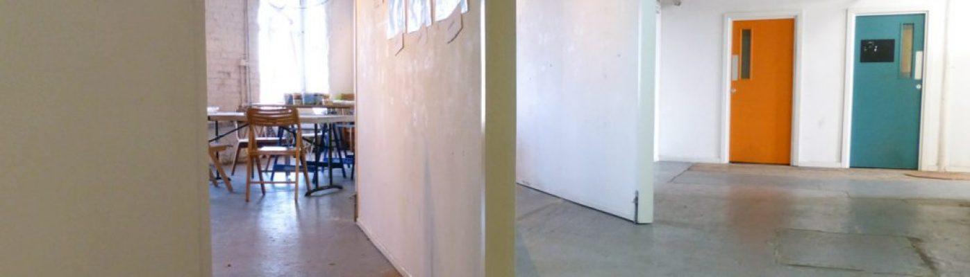 Inspiring art studio