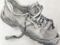 Boot-pencil-drawing