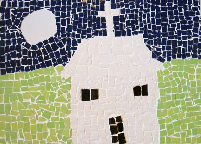Mosaics - Cartwheel Arts and Bubble Enterprise - art and enterprise community project.