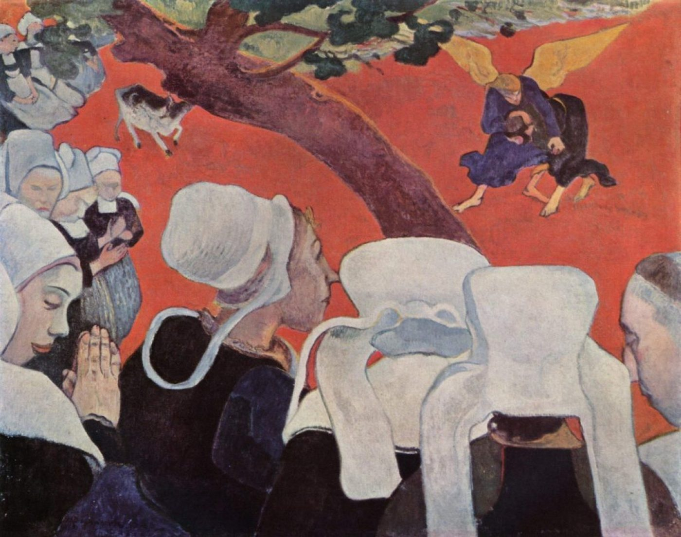 Context Vision after teh sermon Paul_Gauguin