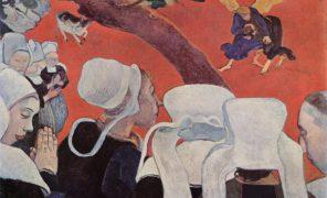 Context Vision after teh sermon Paul_Gauguin
