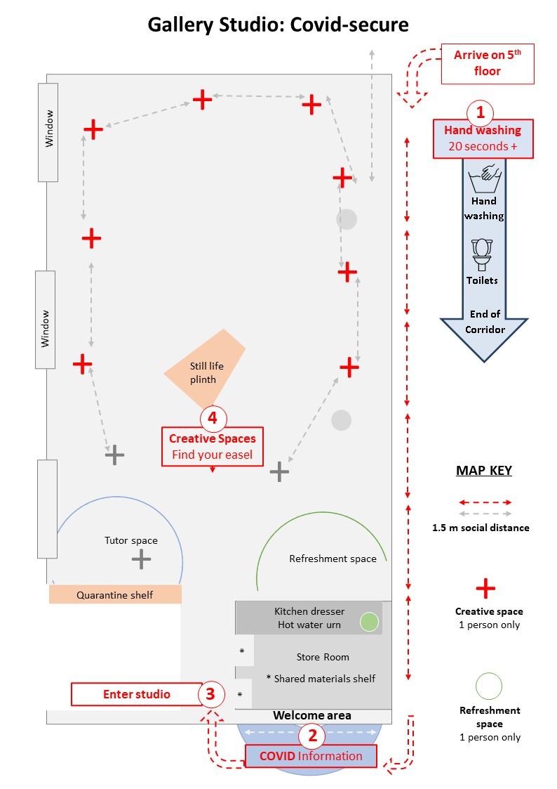 Covid Studio map2021 July