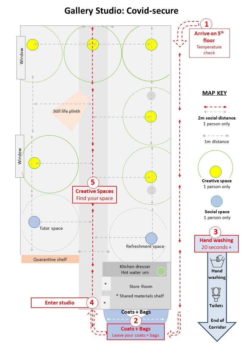 Covid Studio map2021