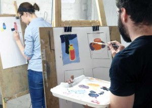 Drawing tonal qualities of colour 1