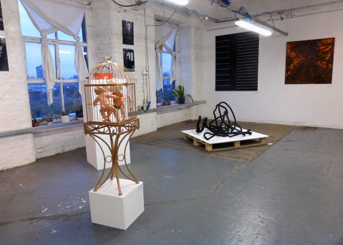 Flexible exhibition + workshop space