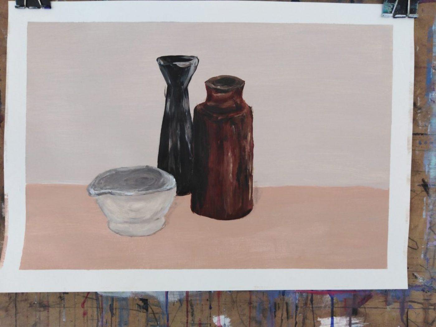 acrylic painting level 1 summer 2020