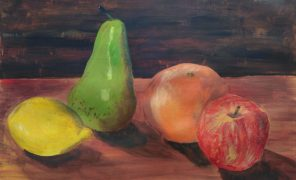 Acrylic painting, level1, October 2020