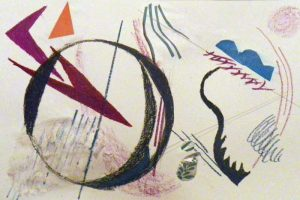 The Art Elements. Kandinsky project to learn about visual balance.