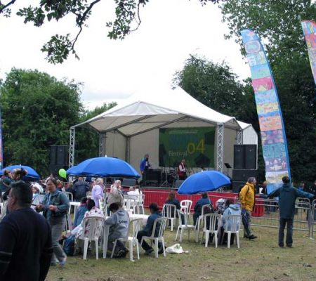 Manchester City Council - Sail banners, community festivals designed with school children.