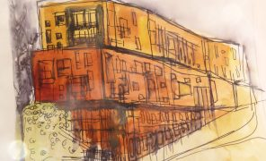 Cityscapes - urban sketching - Sept 2020