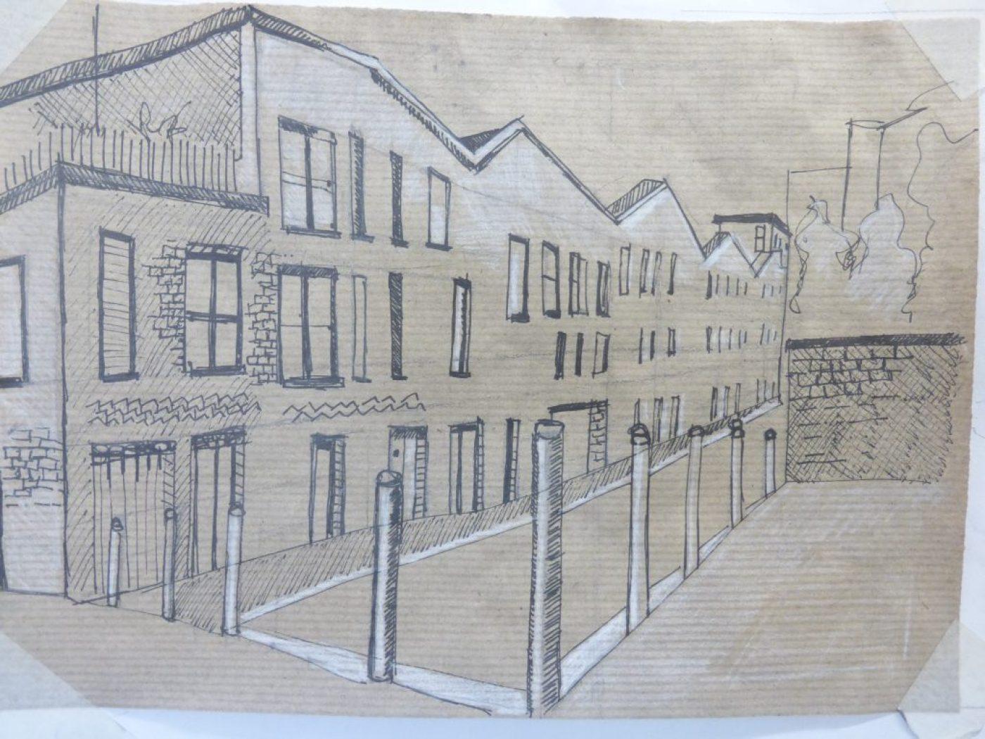 Cityscapes urban sketching - May 2021