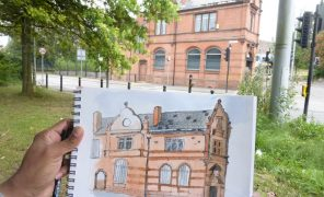 Cityscapes urban sketching - Sept 2021