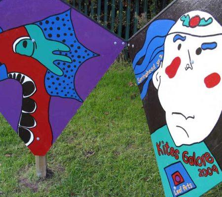 Springhead Primary, Oldham - Kites Galore