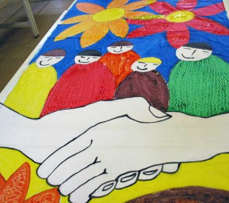 Schools and community projects. Community and participatory arts and curriculum linked projects.