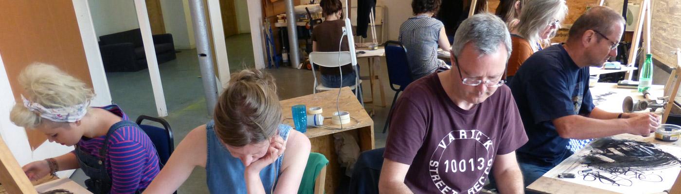 Creative Art Courses, Ancoats, Manchester - Creative inspiring studio