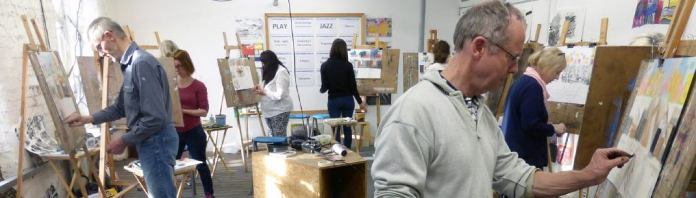 Creative Art Courses, Ancoats, Manchester - warm and welcoming learning space