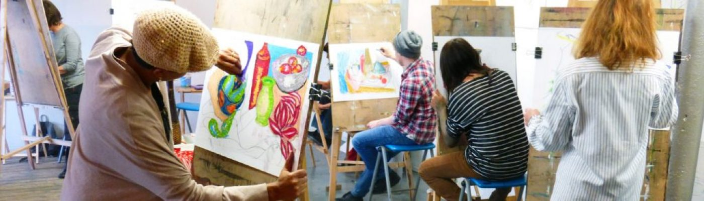 Creative Art Courses, Ancoats, Manchester - rewarding creative learning