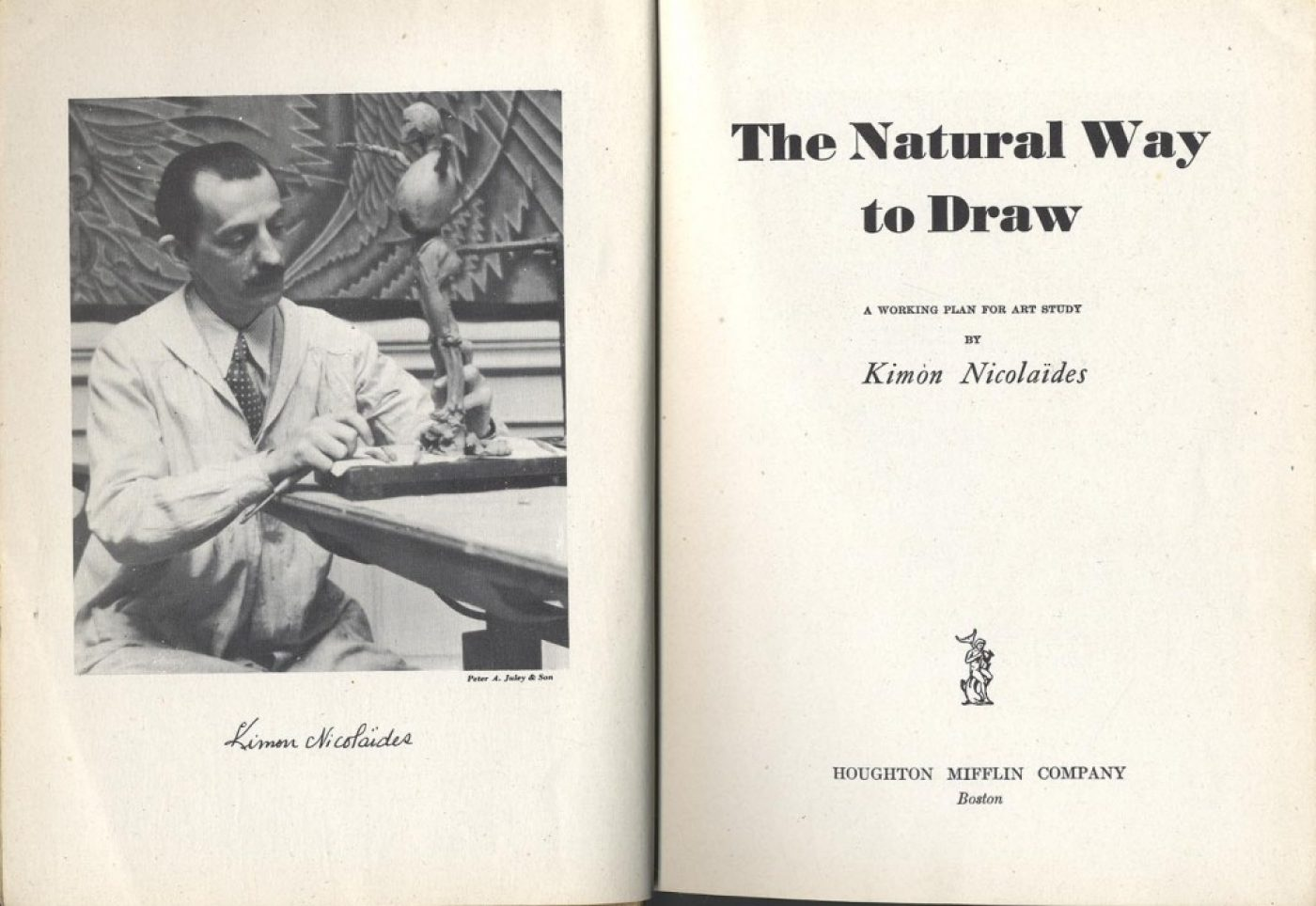 The Natural Way to Draw by Kimon Nickolaides