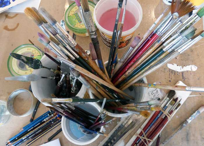 Begin to draw and paint