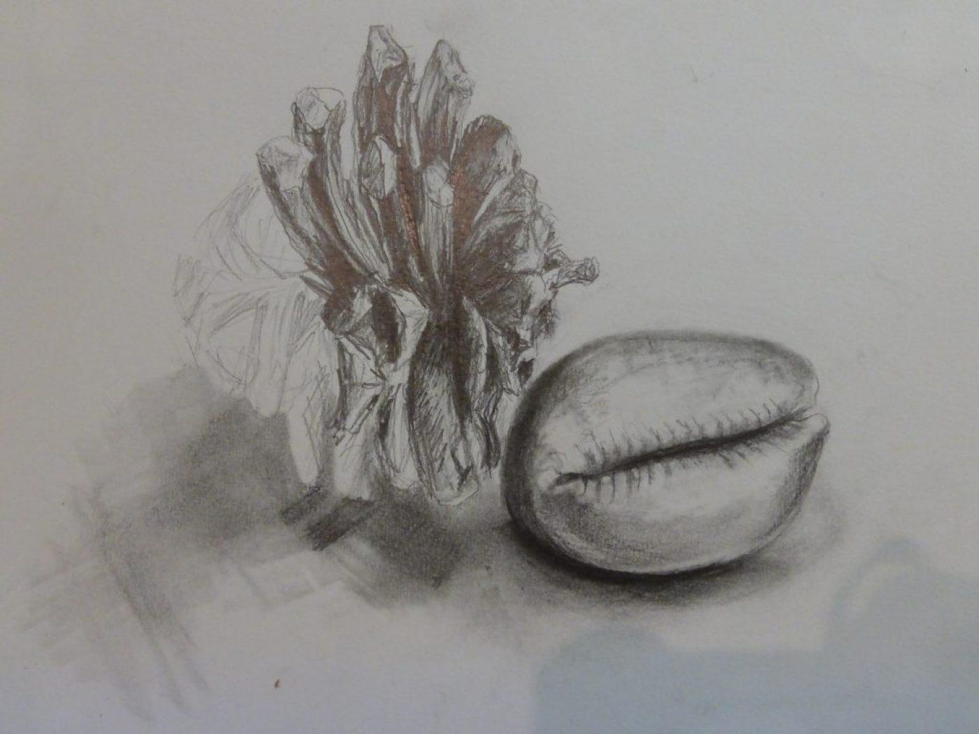 pencil sketching