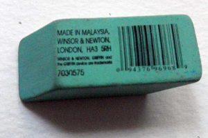 Rubber eraser image