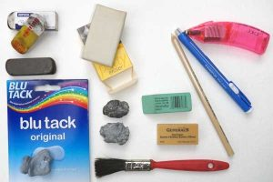 rubbers-and-erasers-collection-for artists